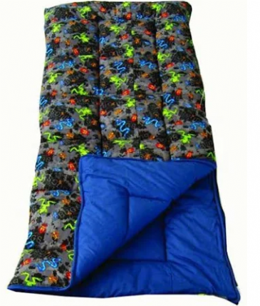Sunncamp Junior Sleeping Bag - Bugs- With/ Without Pillow